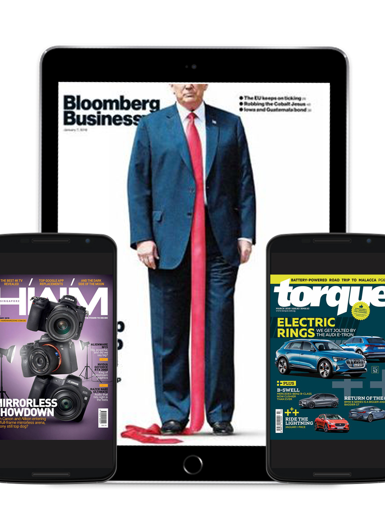 Bloomberg, Torque and HWM Singapore