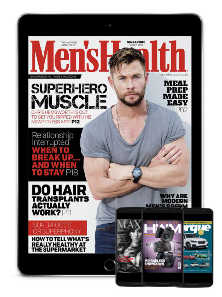Men's Health, Maxim, HWM, Torque
