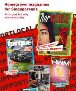 Singapore magazines for Singaporeans