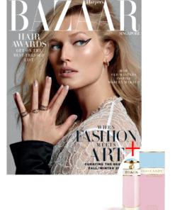 Harper's Bazaar x Prada