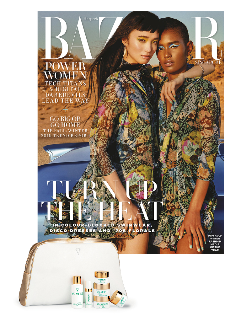 Subscribe to Harper's Bazaar and get a Valmont