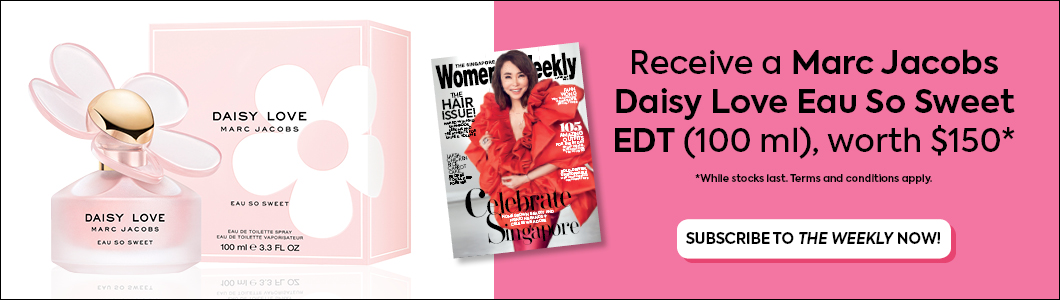 The Singapore Women's Weekly- Print Promotion