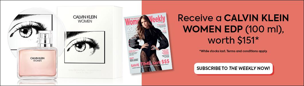 The Singapore Women's Weekly x Calvin Klein