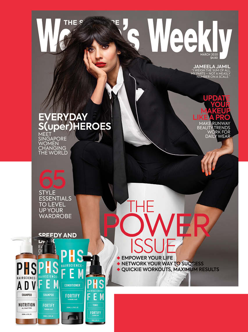 The Singapore Women's Weekly x PHS Hairscience
